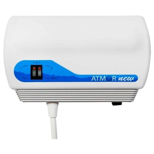 Проточный электрический водонагреватель Atmor New 7 кран
