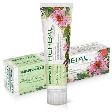 Зубная паста Жемчужная Herbal Эхинацея