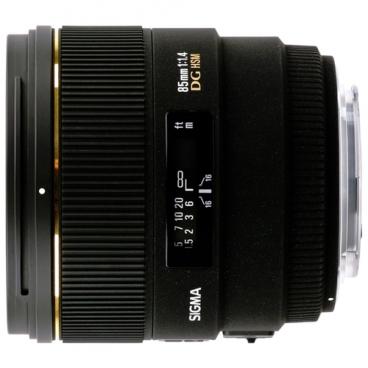 Объектив Sigma AF 85mm f/1.4 EX DG HSM Nikon F
