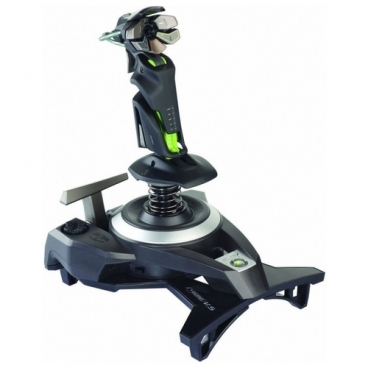Джойстик Saitek Cyborg F.L.Y. 9 Wireless Flight Stick for Xbox 360