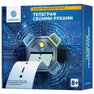 Электронный конструктор Intellectico Своими руками 1101 Телеграф
