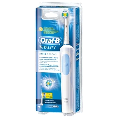 Электрическая зубная щетка Oral-B Vitality White & Clean