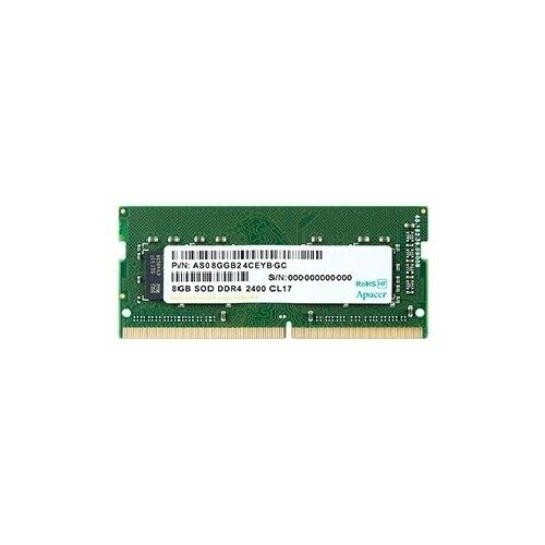 Оперативная память 8 ГБ 1 шт. Apacer DDR4 2400 SO-DIMM 8Gb