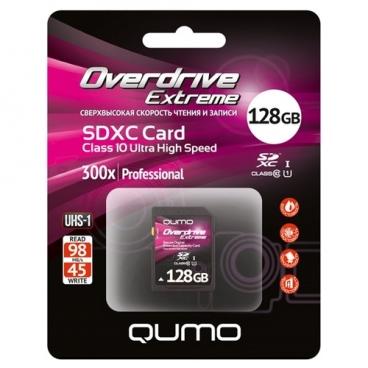 Карта памяти Qumo Overdrive Extreme SDXC Class 10 UHS-I U1