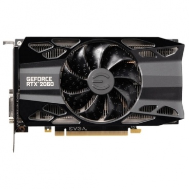 Видеокарта EVGA GeForce RTX 2060 1755MHz PCI-E 3.0 6144MB 14000MHz 192 bit DVI HDMI HDCP XC GAMING