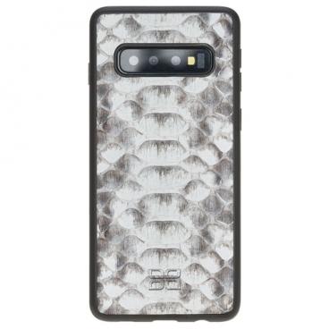 Чехол Bouletta FlexCover для Samsung Galaxy S10 (кожа питона)