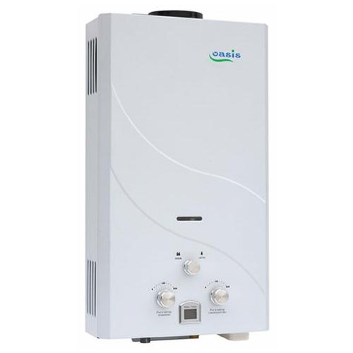 Проточный газовый водонагреватель Oasis 26 кВт белый