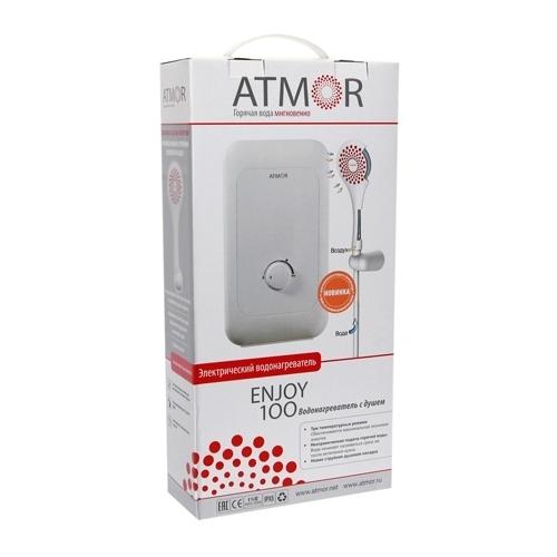 Проточный электрический водонагреватель Atmor ENJOY 100 3.5 душ