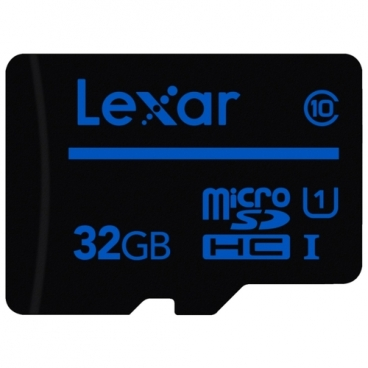 Карта памяти Lexar microSDHC Class 10 UHS Class 1 32GB