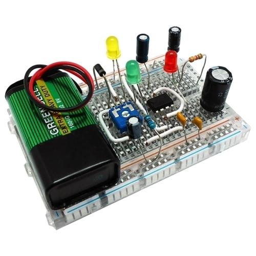 Электронный конструктор Мастер Кит Азбука электронщика NR04 Классика схемотехники