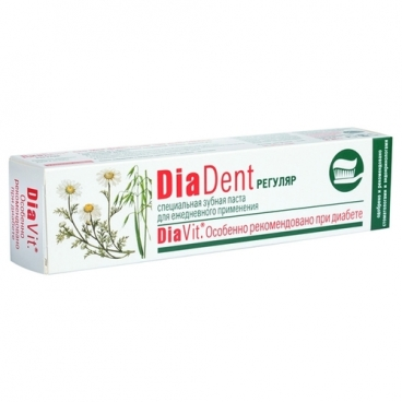 Зубная паста Diadent Регуляр