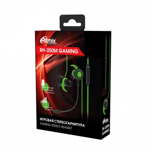 Компьютерная гарнитура Ritmix RH-250M Gaming