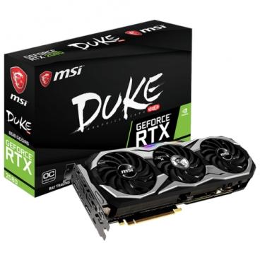 Видеокарта MSI GeForce RTX 2080 1515MHz PCI-E 3.0 8192MB 14000MHz 256 bit 3xDisplayPort HDMI HDCP DUKE OCV1
