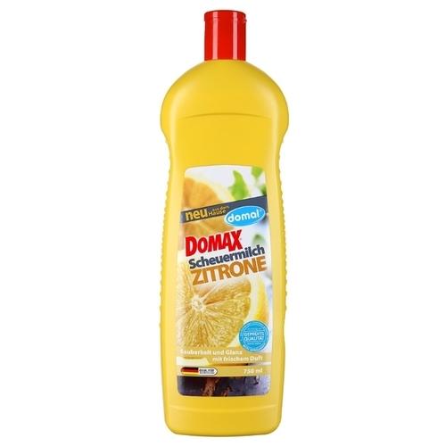 Кремообразное чистящее средство с запахом лимона Domal