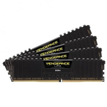 Оперативная память 16 ГБ 4 шт. Corsair CMK64GX4M4A2666C16