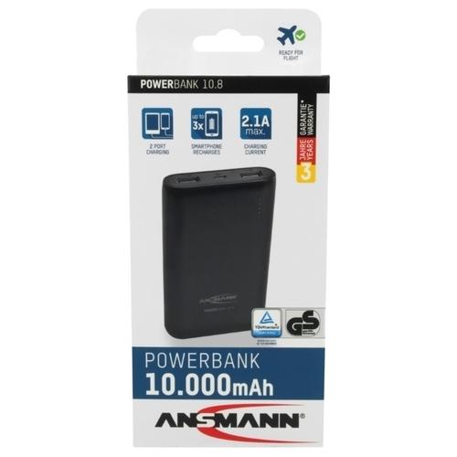Аккумулятор ANSMANN Powerbank 10.8 (1700-0067)