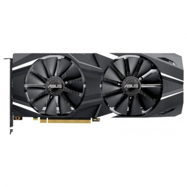 Видеокарта ASUS GeForce RTX 2070 1410MHz PCI-E 3.0 8192MB 14000MHz 256 bit HDMI HDCP Dual Advanced