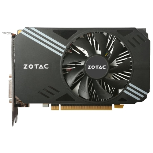 Видеокарта ZOTAC GeForce GTX 1060 1506Mhz PCI-E 3.0 6144Mb 8000Mhz 192 bit DVI HDMI HDCP Mini