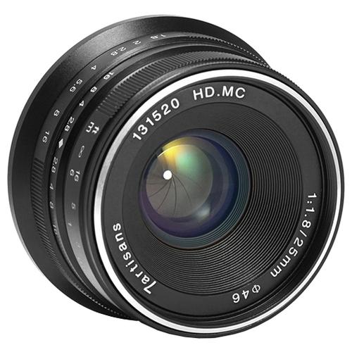 Объектив 7artisans 25mm f/1.8 Fuji X