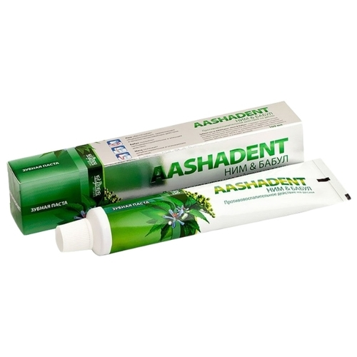 Зубная паста Aasha Herbals Ним - Бабул