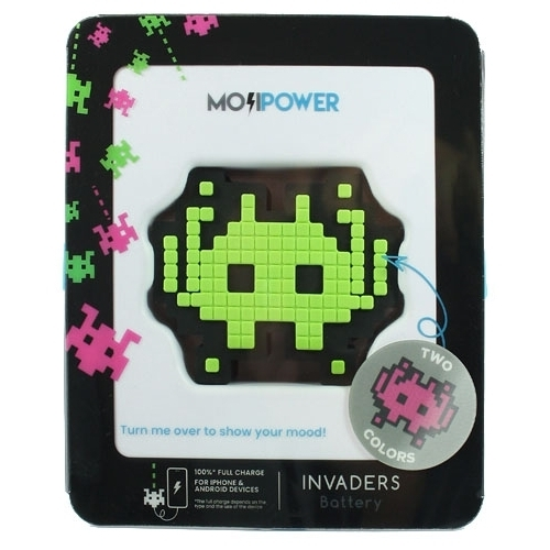 Аккумулятор MojiPower Invaders 2600 mAh