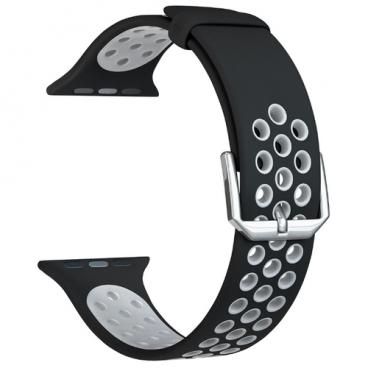 Lyambda Силиконовый ремешок Alioth для Apple Watch 42/44 mm