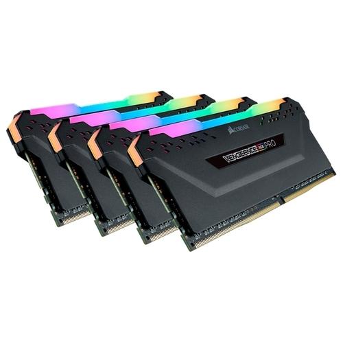 Оперативная память 16 ГБ 4 шт. Corsair CMW64GX4M4C3466C16