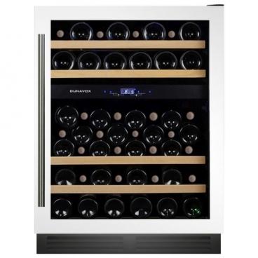 Встраиваемый винный шкаф Dunavox DX-53.130DWK/DP