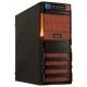 Компьютерный корпус CROWN MICRO CMC-SM162 450W Black/orange