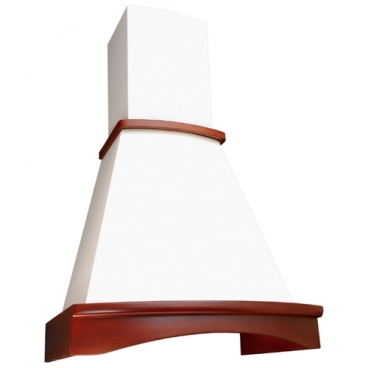 Каминная вытяжка ELIKOR Ротонда 650 60 бежевый / бук светло-коричневый