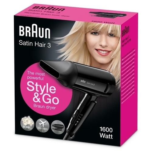 Фен Braun HD 350 Satin Hair 3