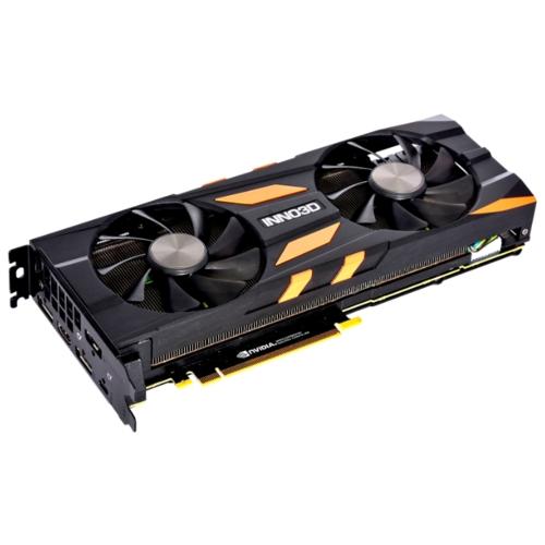 Видеокарта INNO3D GeForce RTX 2080 Ti 1590MHz PCI-E 3.0 11264MB 14000MHz 352 bit HDMI 3xDisplayPort HDCP X2 OC