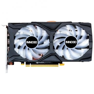 Видеокарта INNO3D GeForce GTX 1660 Ti 1800MHz PCI-E 3.0 6144MB 12000MHz 192 bit 3xDisplayPort HDMI HDCP TWIN X2 OC RGB