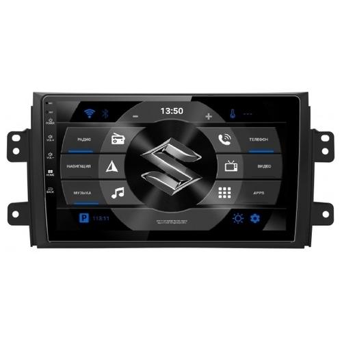 "Автомагнитола Subini SUZ901Y 9"" Suzuki SX4 2006-2016"