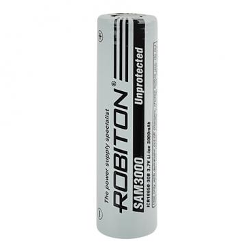 Аккумулятор Li-Ion 3000 мА·ч ROBITON SAM3000 Unprotected 18650