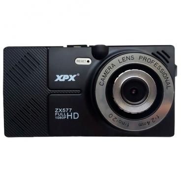 Видеорегистратор XPX ZX577, 2 камеры, GPS