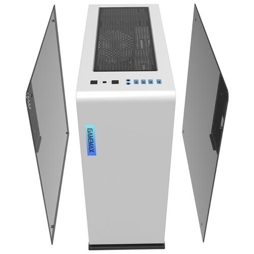 Компьютерный корпус GameMax Vega Perspex White