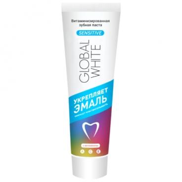 Зубная паста Global White Витаминизированная