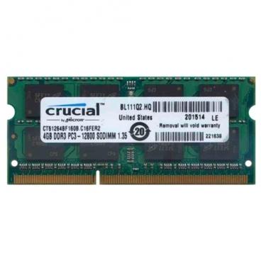 Оперативная память 4 ГБ 1 шт. Crucial CT51264BF160B