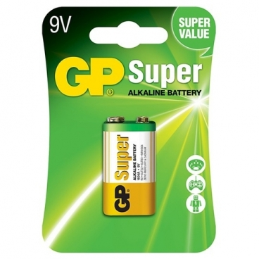 Батарейка GP Super Alkaline 9V Крона