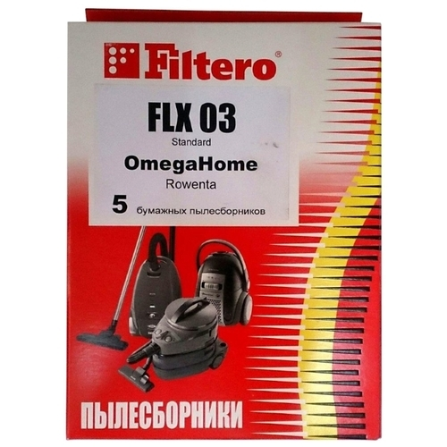 Filtero Мешки-пылесборники FLX 03 Standard
