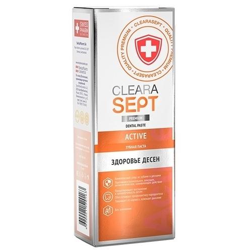 Зубная паста ClearaSept Active Здоровье десен и зубов