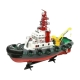 Корабль Heng Long Seaport Work Boat (3810) 1:20 60 см