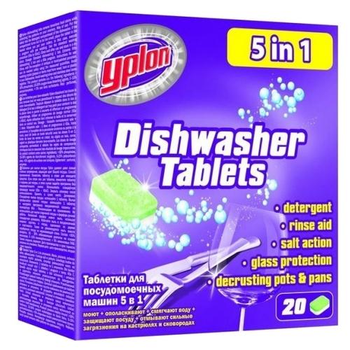 Yplon 5 в 1 таблетки для посудомоечной машины