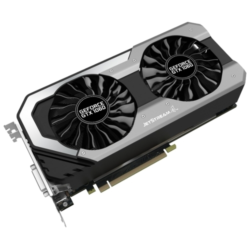 Видеокарта Palit GeForce GTX 1060 1506MHz PCI-E 3.0 3072MB 8000MHz 192 bit DVI HDMI HDCP JetStream