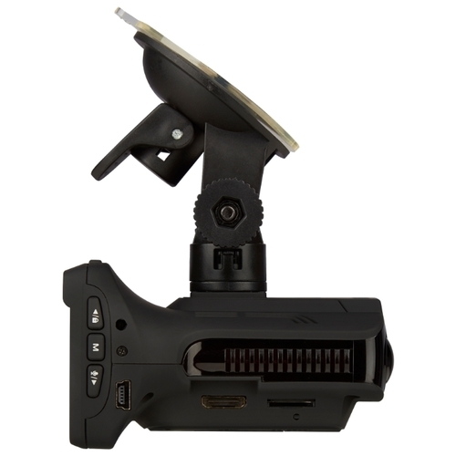 Видеорегистратор с радар-детектором Dunobil Stern, GPS