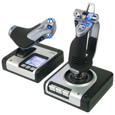 Джойстик Saitek X52 Flight Control System