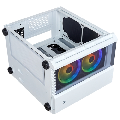 Компьютерный корпус Corsair Crystal Series 280X RGB Tempered Glass White