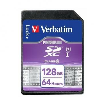 Карта памяти Verbatim SDXC Class 10 UHS-1 128GB