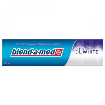Зубная паста Blend-a-med 3D White Деликатное отбеливание